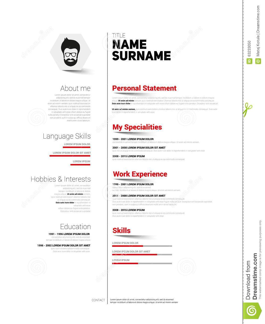 cv template keywords sample customer service resume cv template keywords curriculum vitae cv template the balance mini st cv resume template simple design