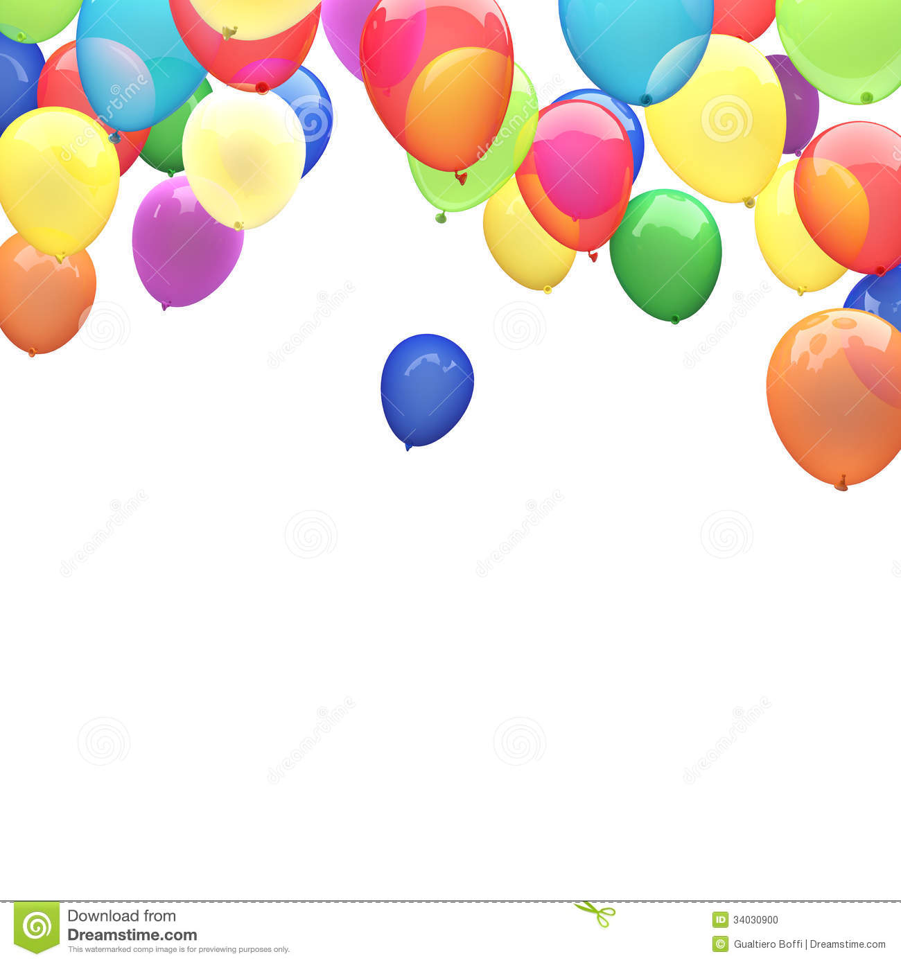 Ballon Bilder 3d Ballons Stock Illustration Image Of Party Balloon