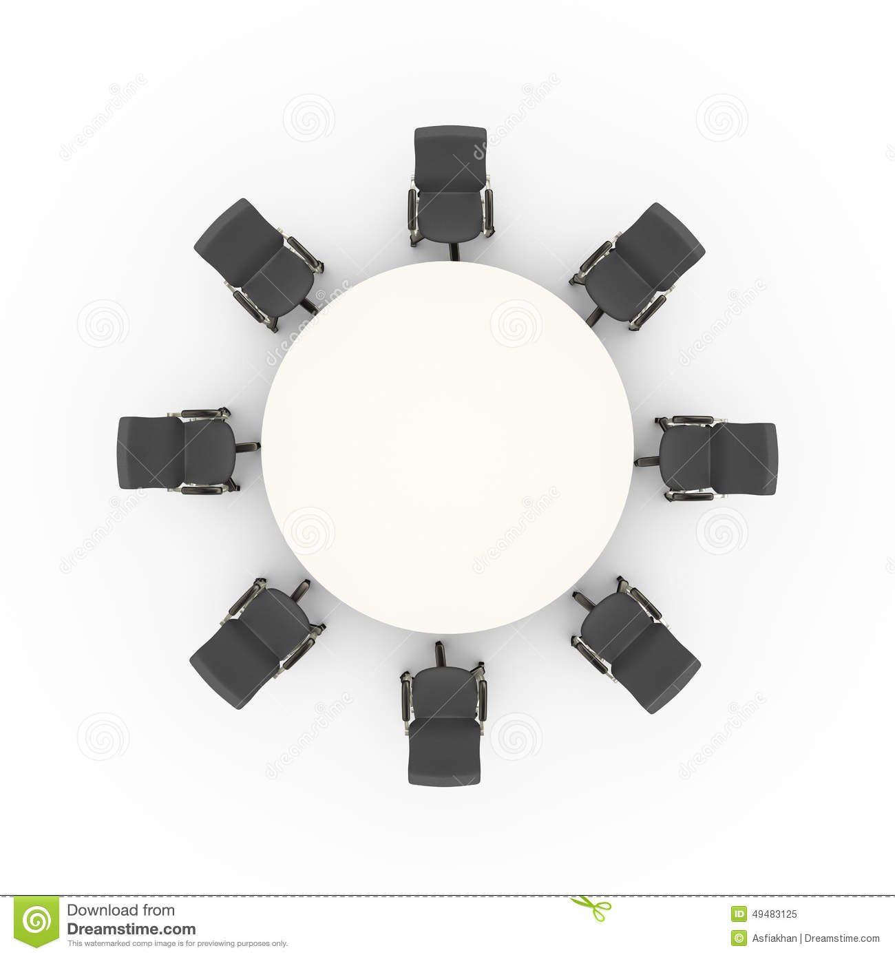 Round table meeting icon - Download