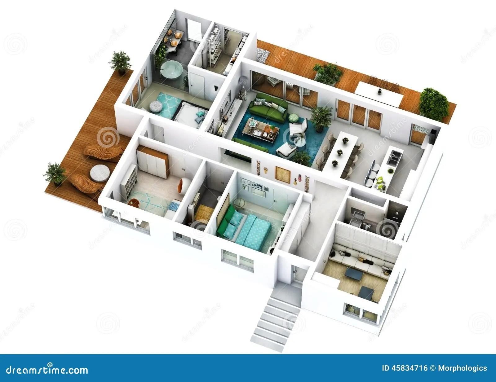 Plan D\'une Villa De Luxe | Plan Maison Moderne Minecraft Plan De ...