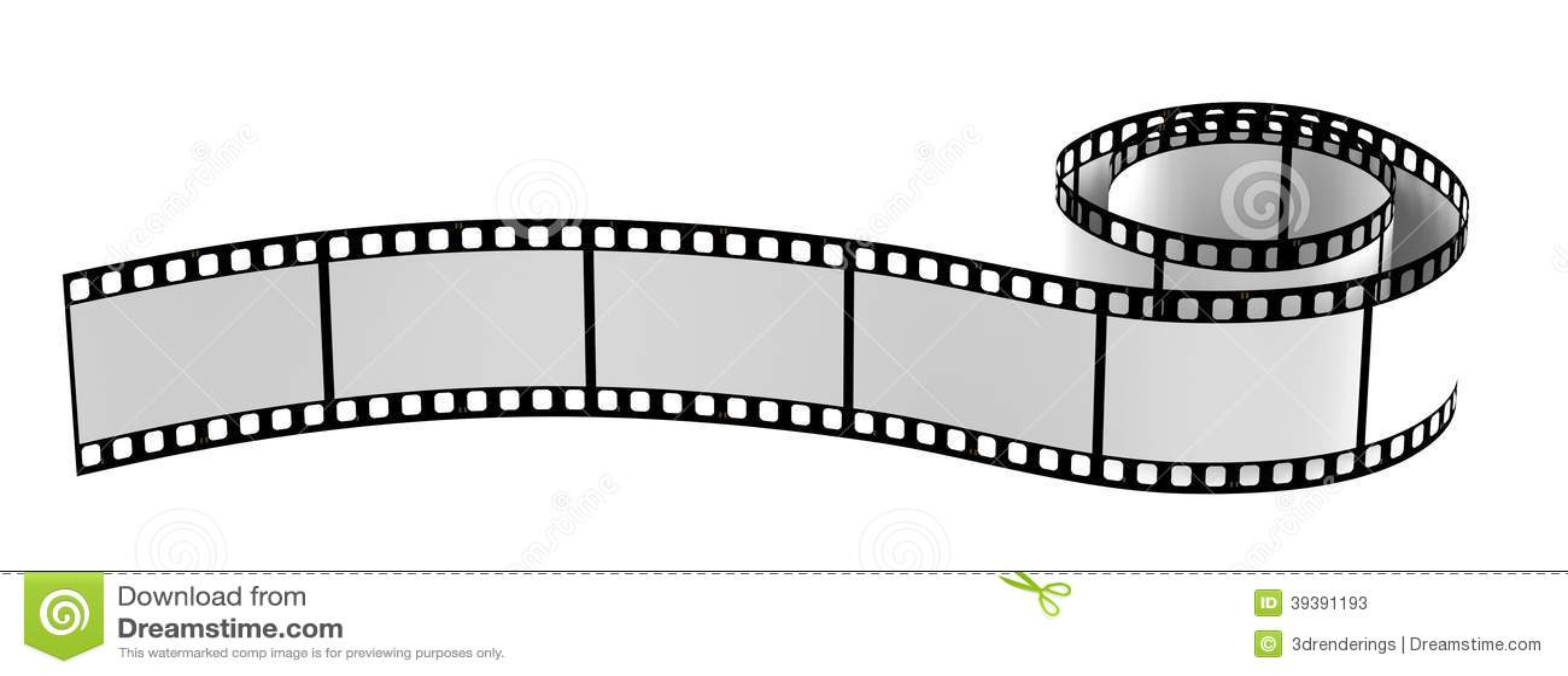 3d render of film reel stock illustration Illustration of frame