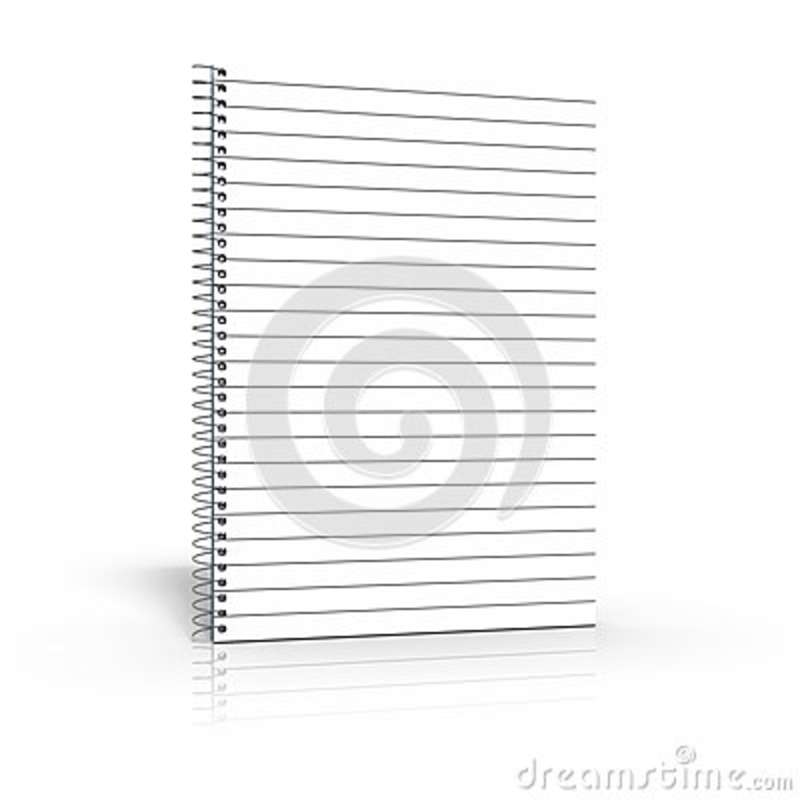 3d Rendering Of Angle-D Binder For Use As A Template Stock
