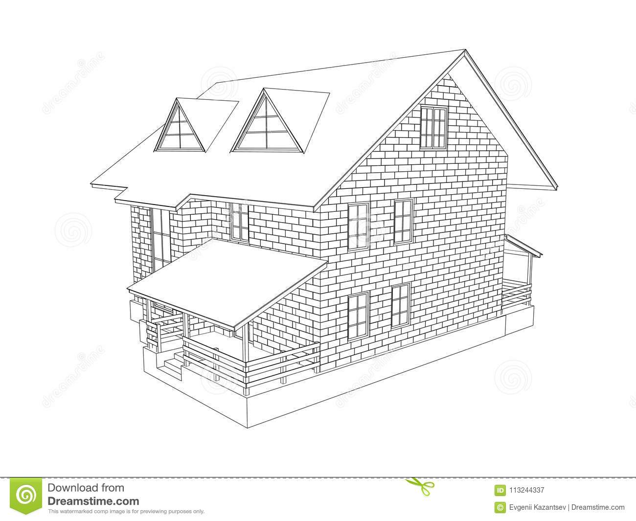 How To Draw A Two Story House Step By Step Ughs Architecture Revit