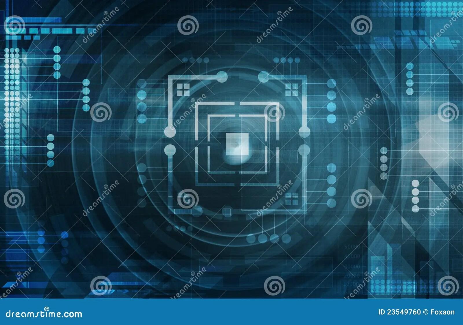 Windows 8 1 Wallpaper Hd Free Download Dark Blue Tech Background Stock Illustration Illustration