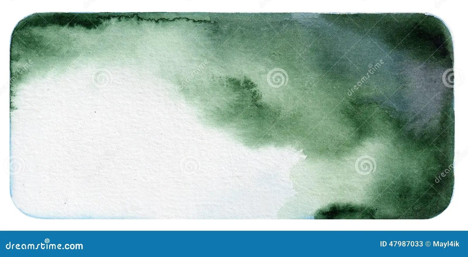 Black Textured Wallpaper Dark Green Watercolor Background Stock Photo Image 47987033