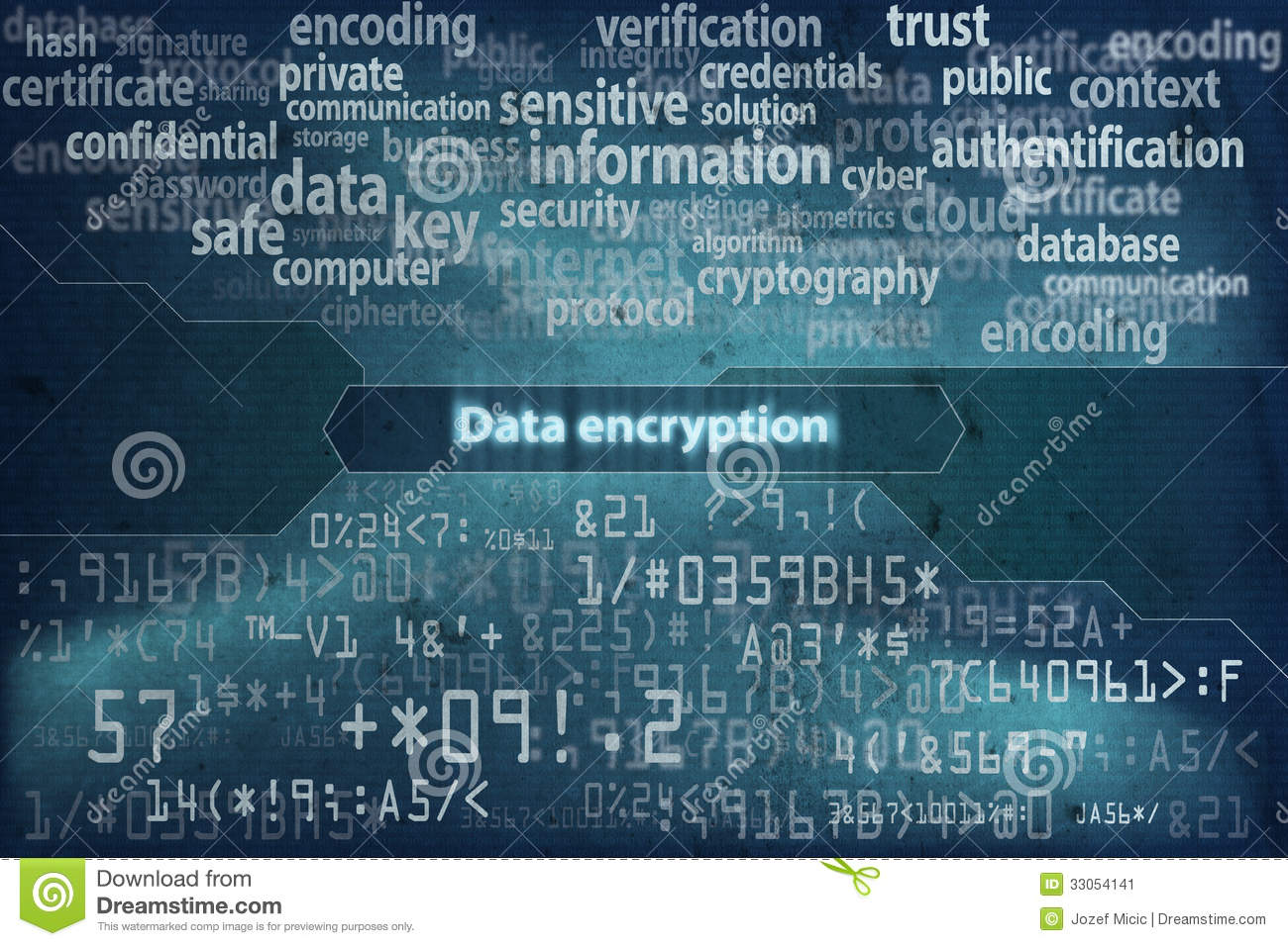 3d Touch Wallpaper Download Data Encryption Background 2 Stock Image Image 33054141