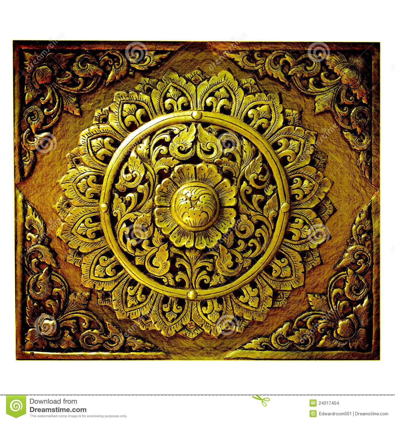 Decor Arte Decorative Art Of Lanna Thai Stock Images Image 24017454