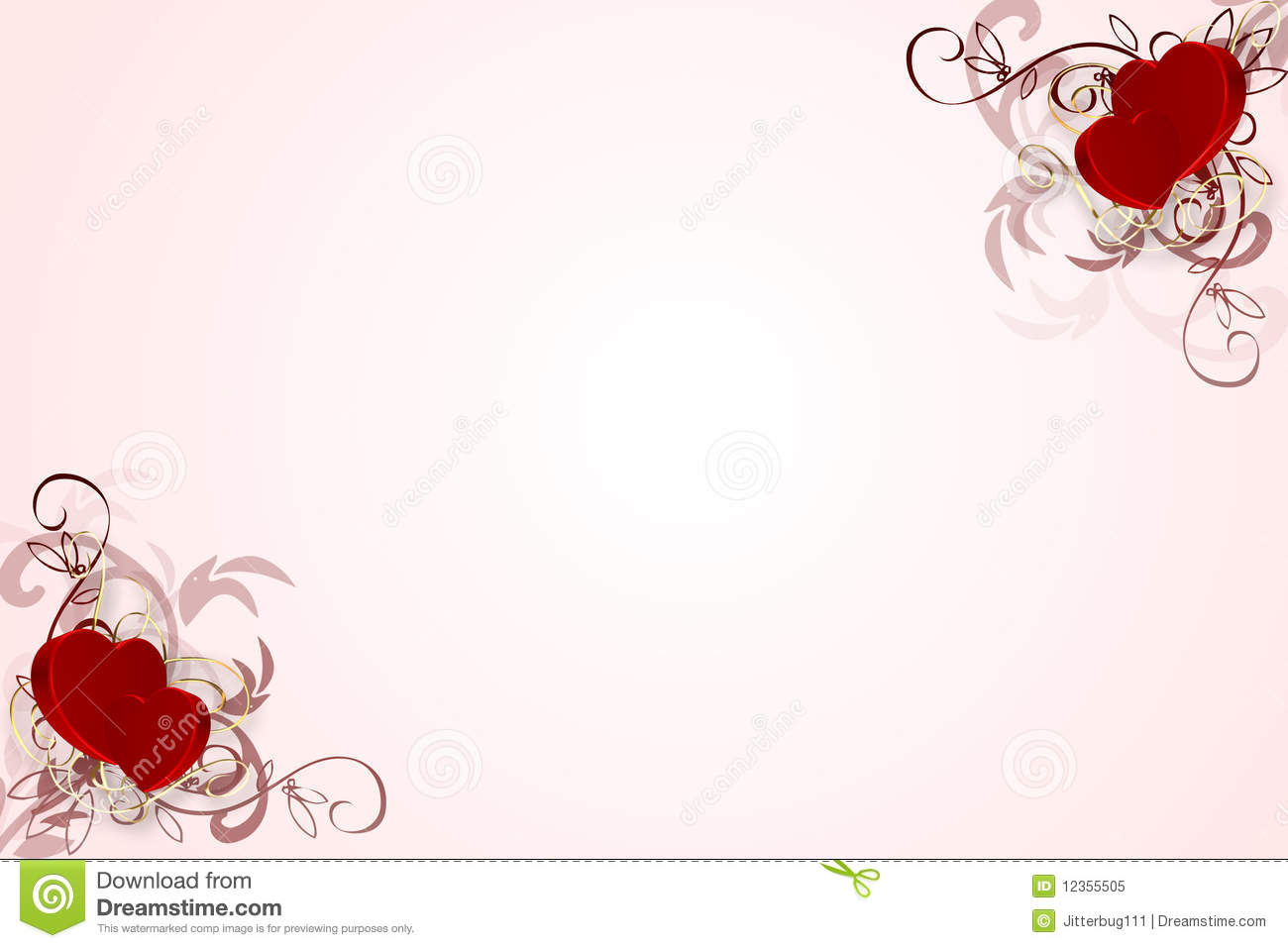 3d Heart Wallpaper Backgrounds Decorative Heart Background Royalty Free Stock Photo