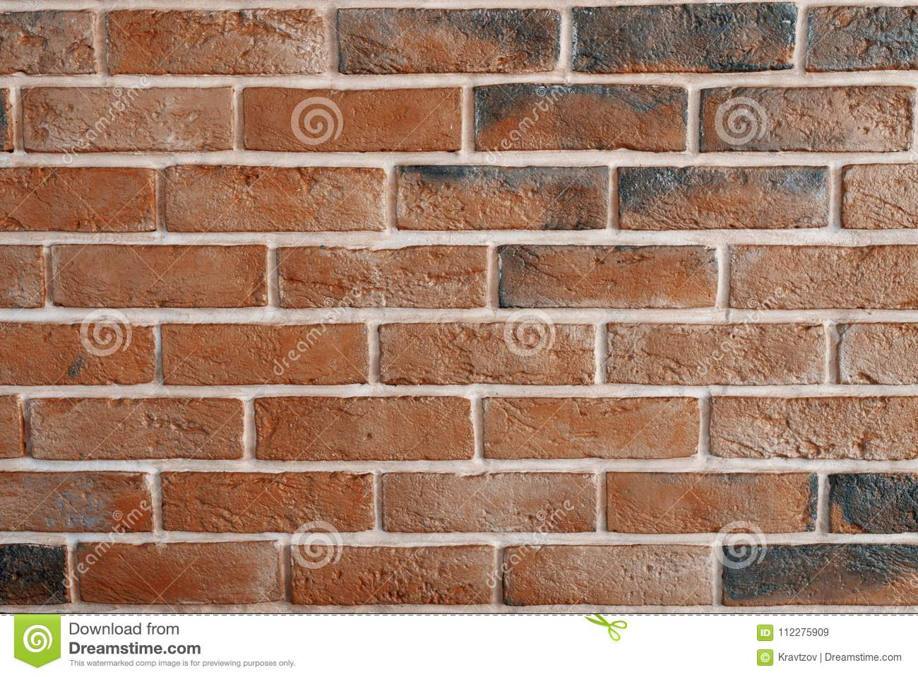 Brick Paint Colors Interior Decorative Interior Brick Wall Painted In Black And Bronze Stock