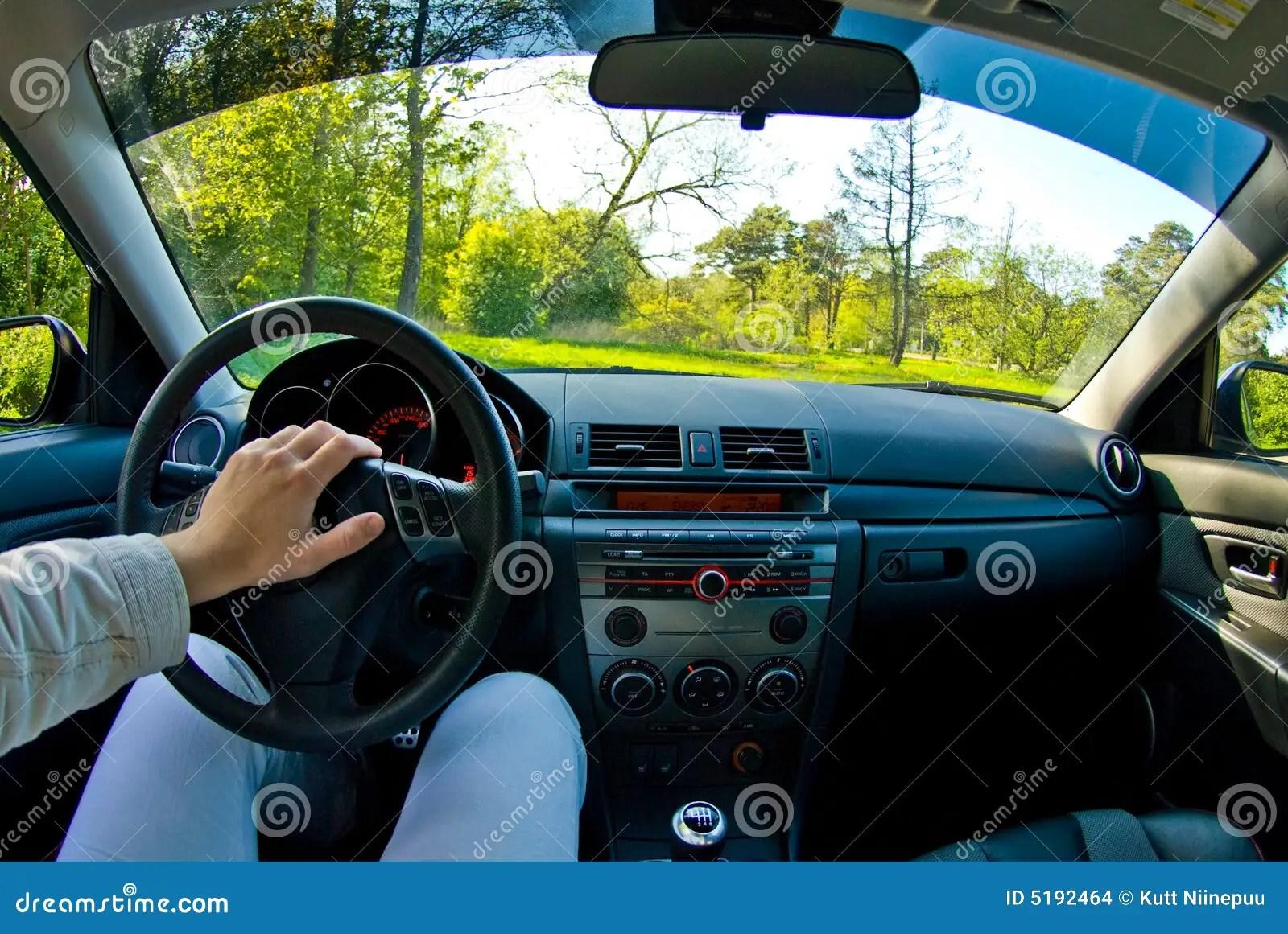 Audio Car Wallpaper Download Dentro De Um Carro Foto De Stock Imagem De Inside Tarde