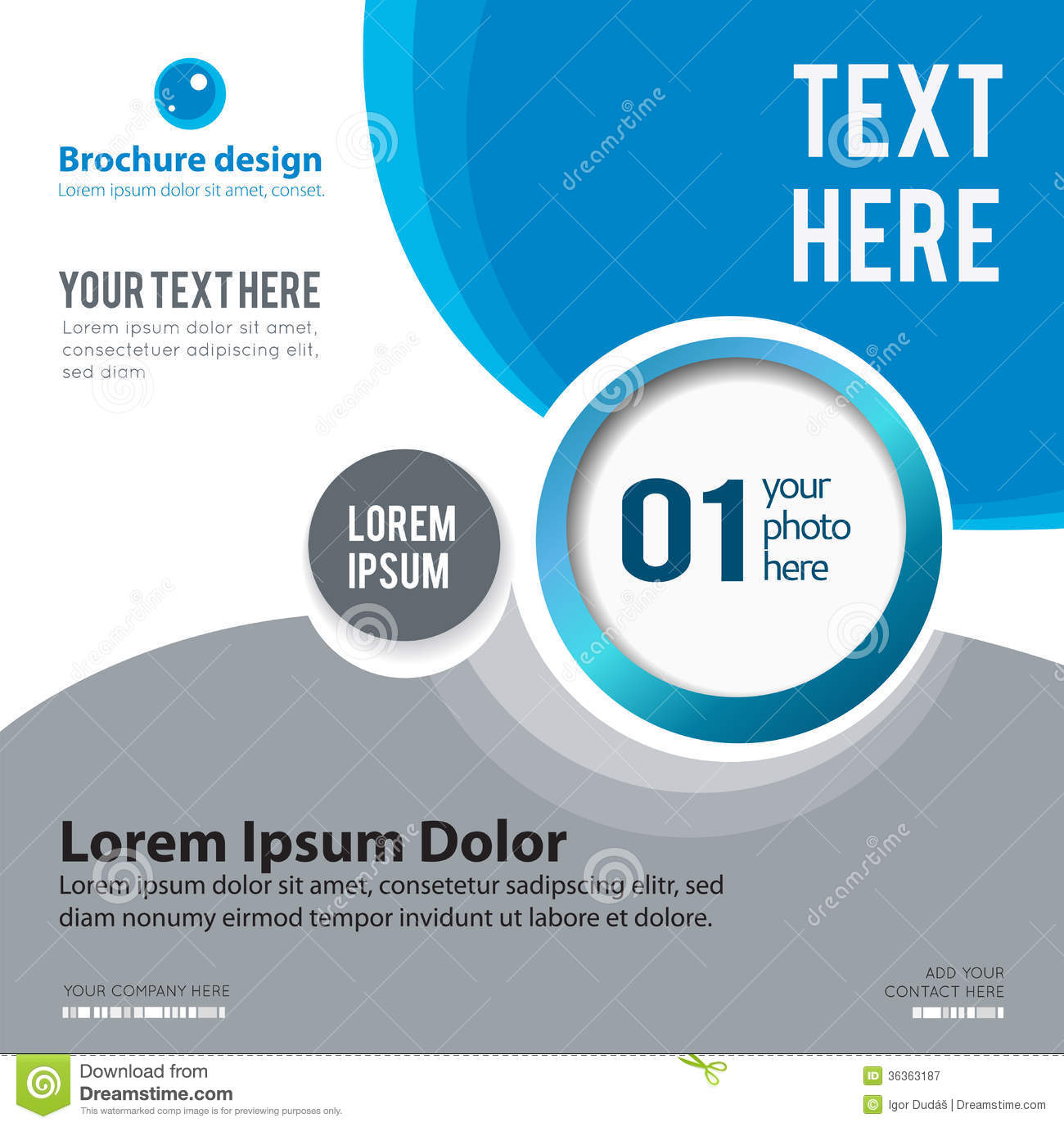Poster design template - Download