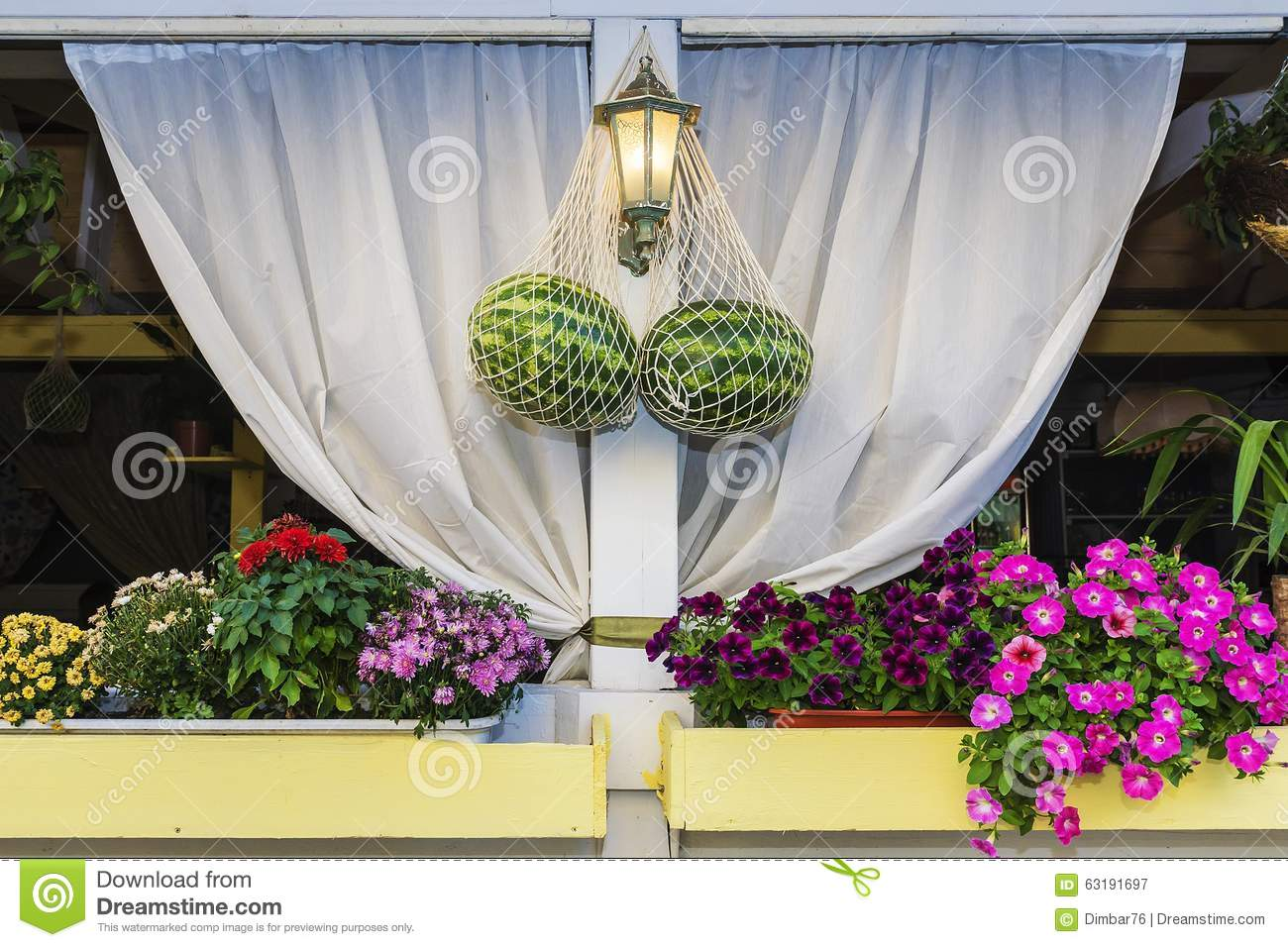 Design Dimbar Design Of A Sidewalk Cafe Stock Image Image Of Garden 63191697