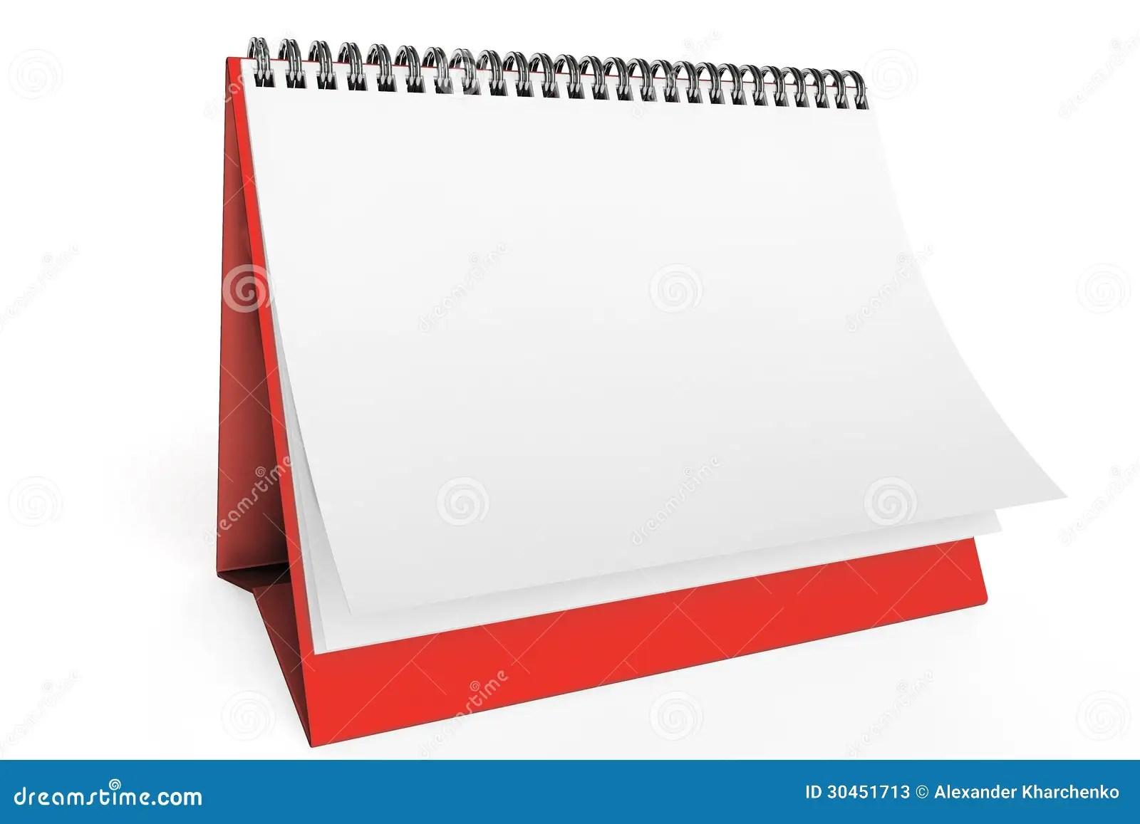 Week Year Calendar Clip Daily Calendar Notebook 111=1 Desk Blank Calendar Stock Photos Image 30451713