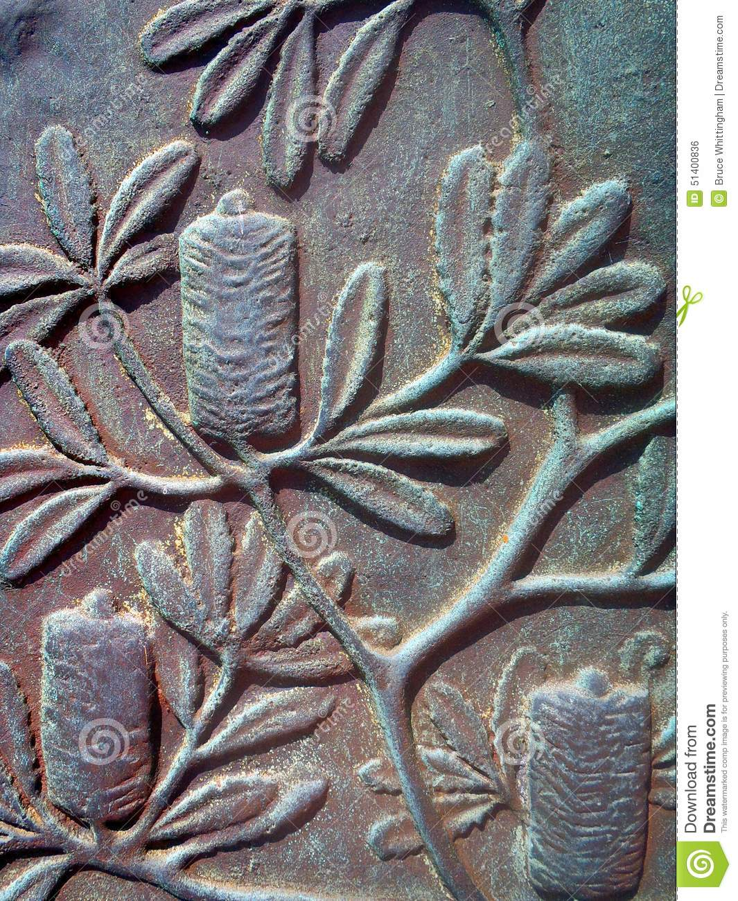 Metal Photo Prints Australia Detail From Bronze Sculpture Stock Photo Image 51400836