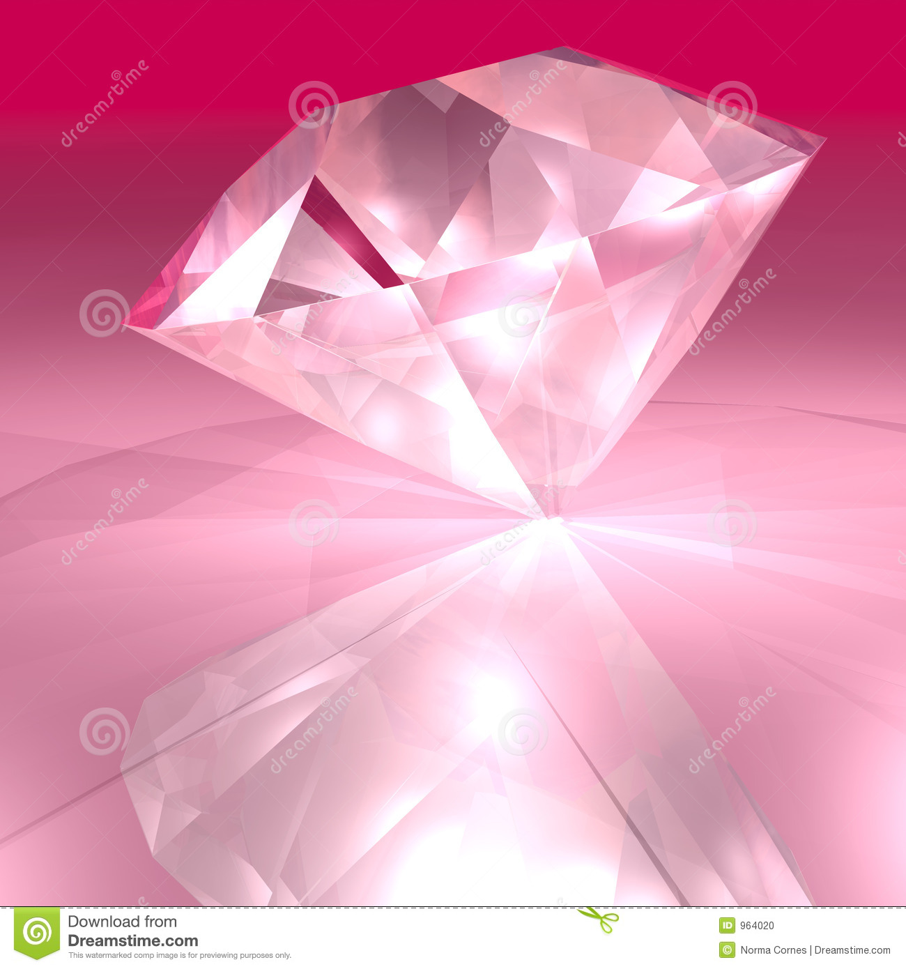 Diamant Rose Diamant Rose Photo Stock Image 964020
