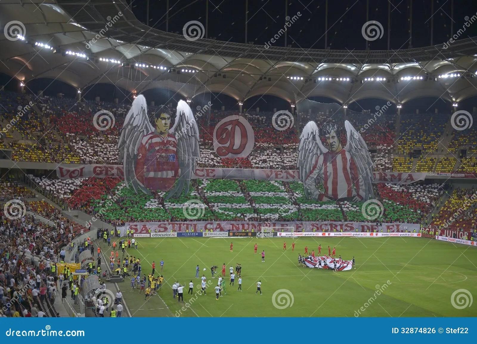 Arsenal Wallpaper 3d Dinamo Steaua 3d Choreography Editorial Photo Image