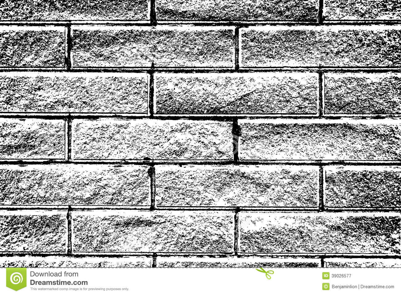 Distressed Brick Distressed Brick Background Stock Photo Image 39026577