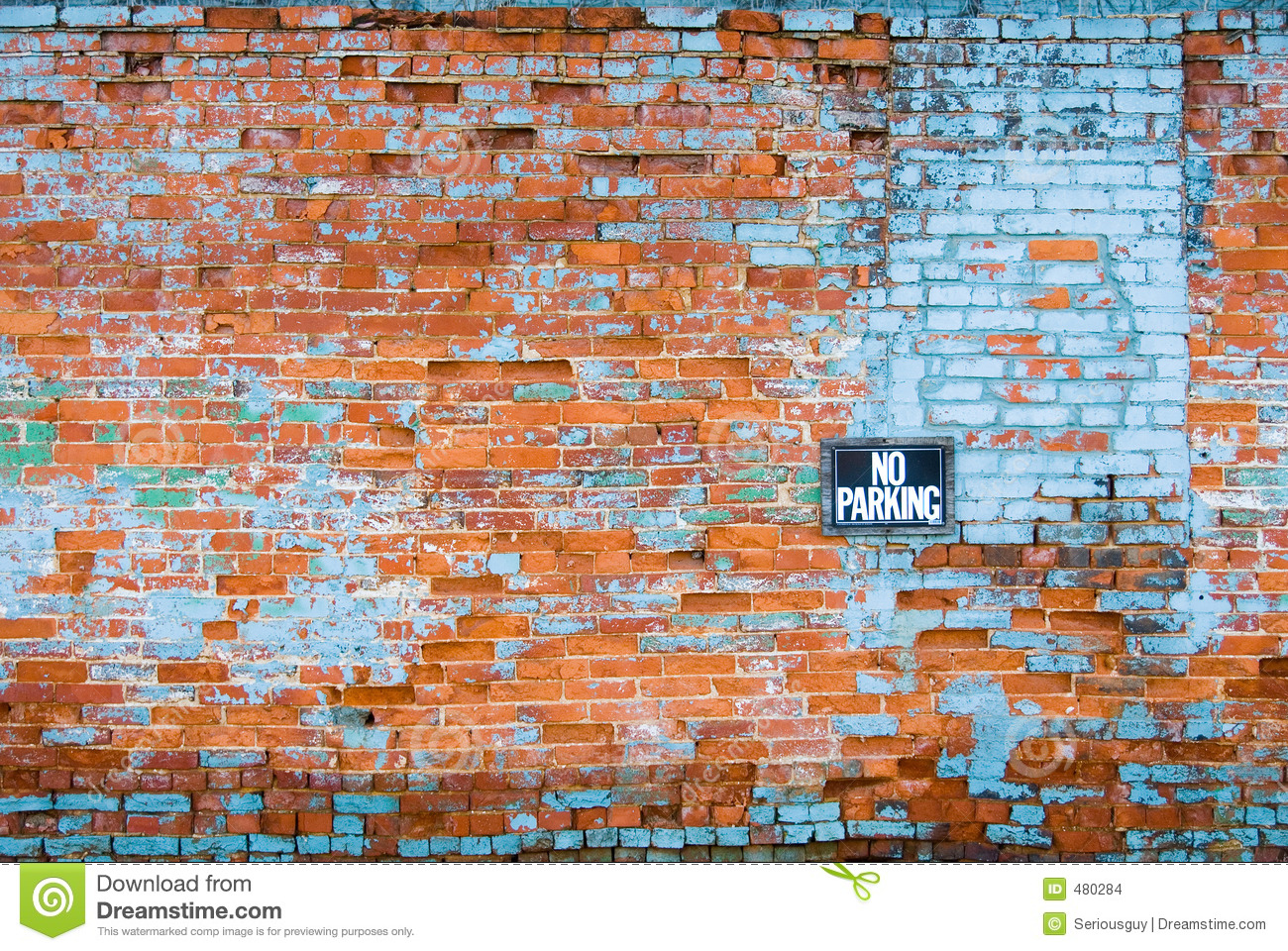 Distressed Brick Distressed Brick Wall Stock Images Image 480284
