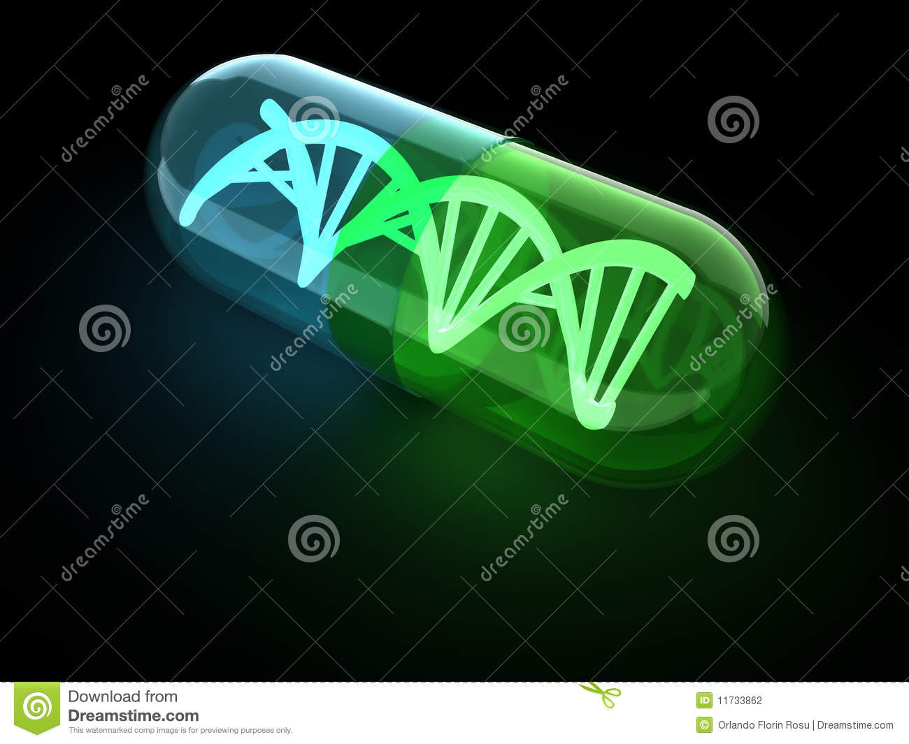 3d Asteroid Wallpaper Dna Capsule Stock Photography Image 11733862