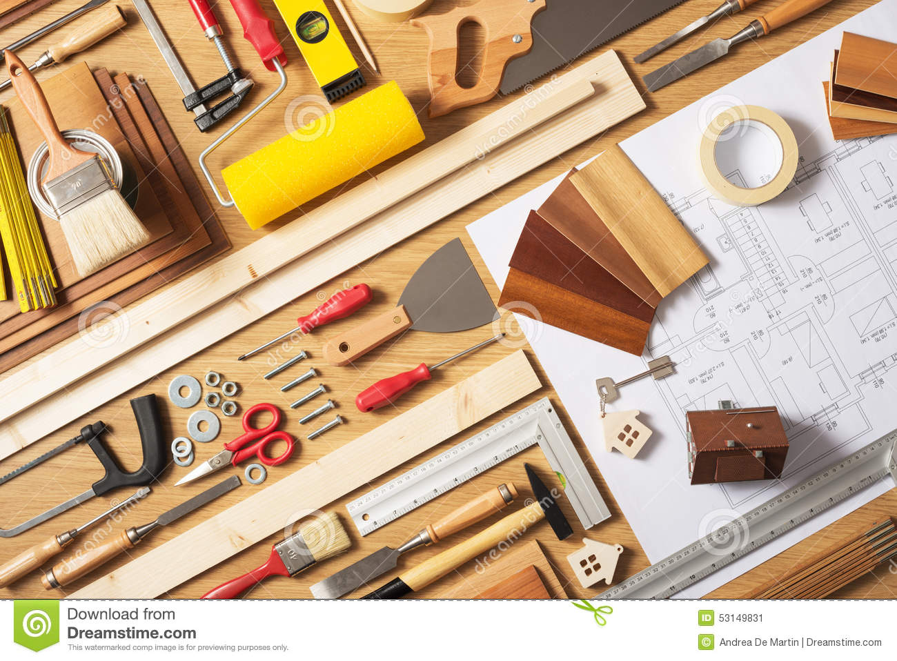 Do Yourself Home Improvement Project Do It Yourself Home Improvement Stock Image Image Of