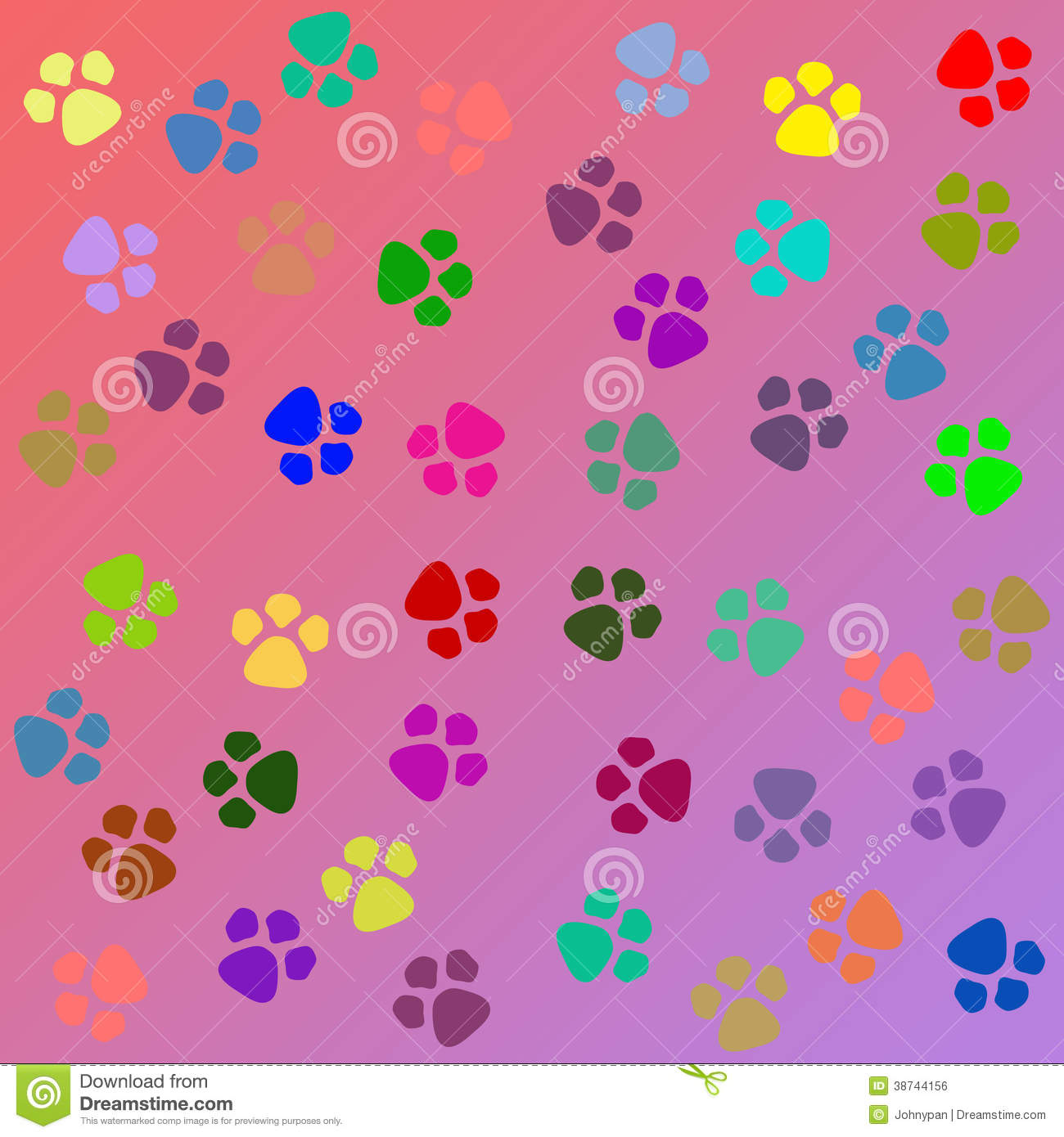 Wallpaper Perritos 3d Dog Paw Texture Royalty Free Stock Image Image 38744156