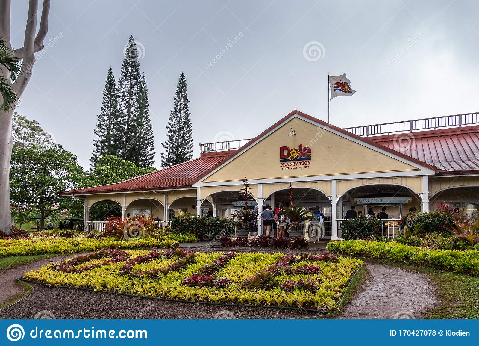 Dole Pineapple Plantation In Wahiawa Oahu Hawaii Usa Editorial Stock Photo Image Of Hawaii Garden 170427078