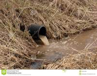 Water Drainage Pipe stock photo. Image of outdoors, dirty ...