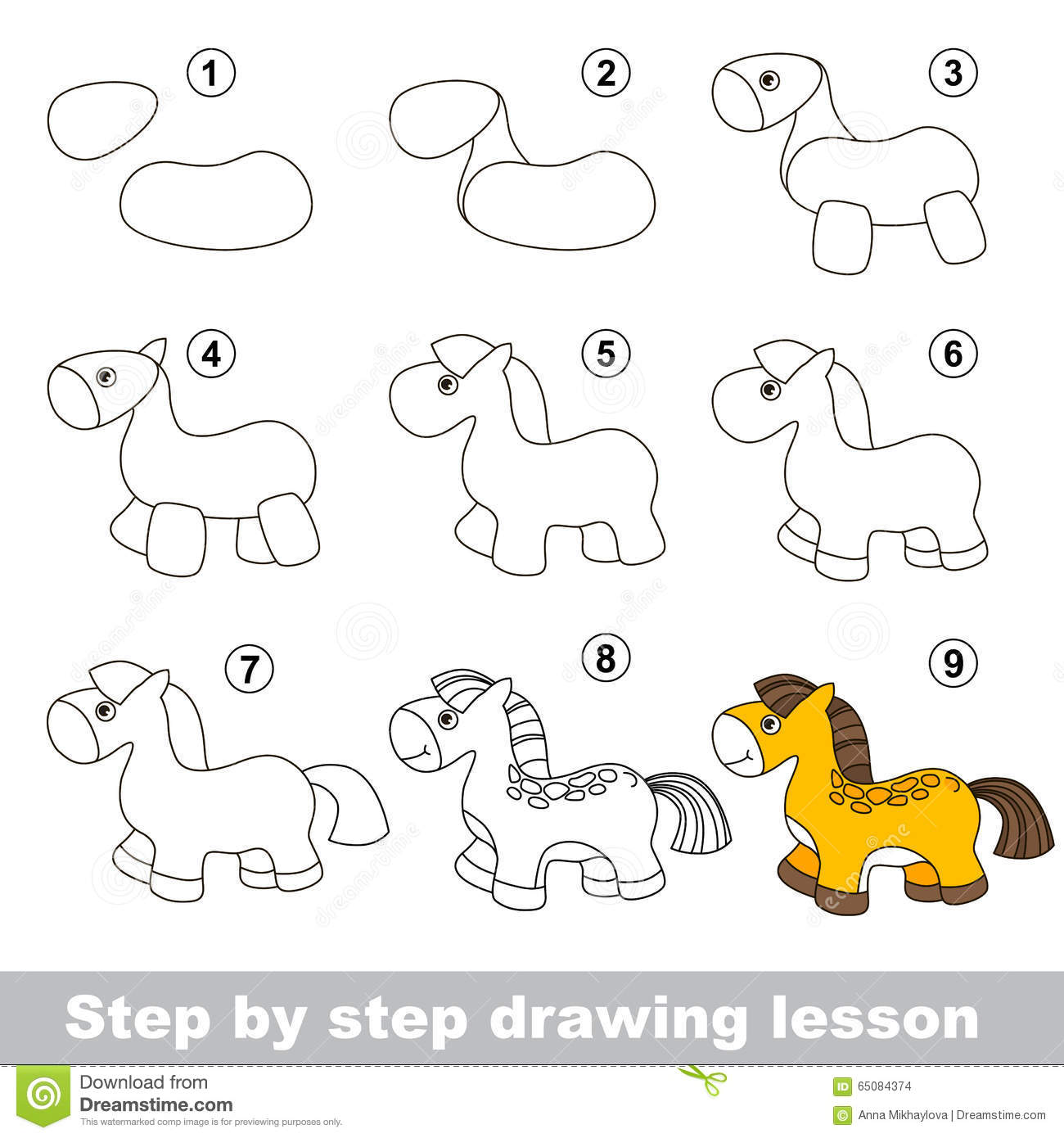How To Draw A Horse For Beginners Solution For How To For Dummies How To  Draw