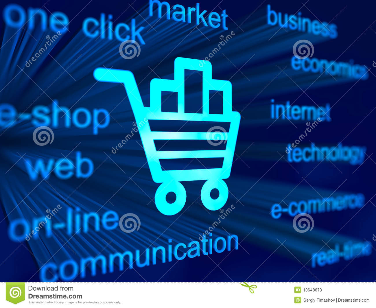 3d Wallpaper Online Shopping E Commerce Background With Cart Icon Stock Photos Image