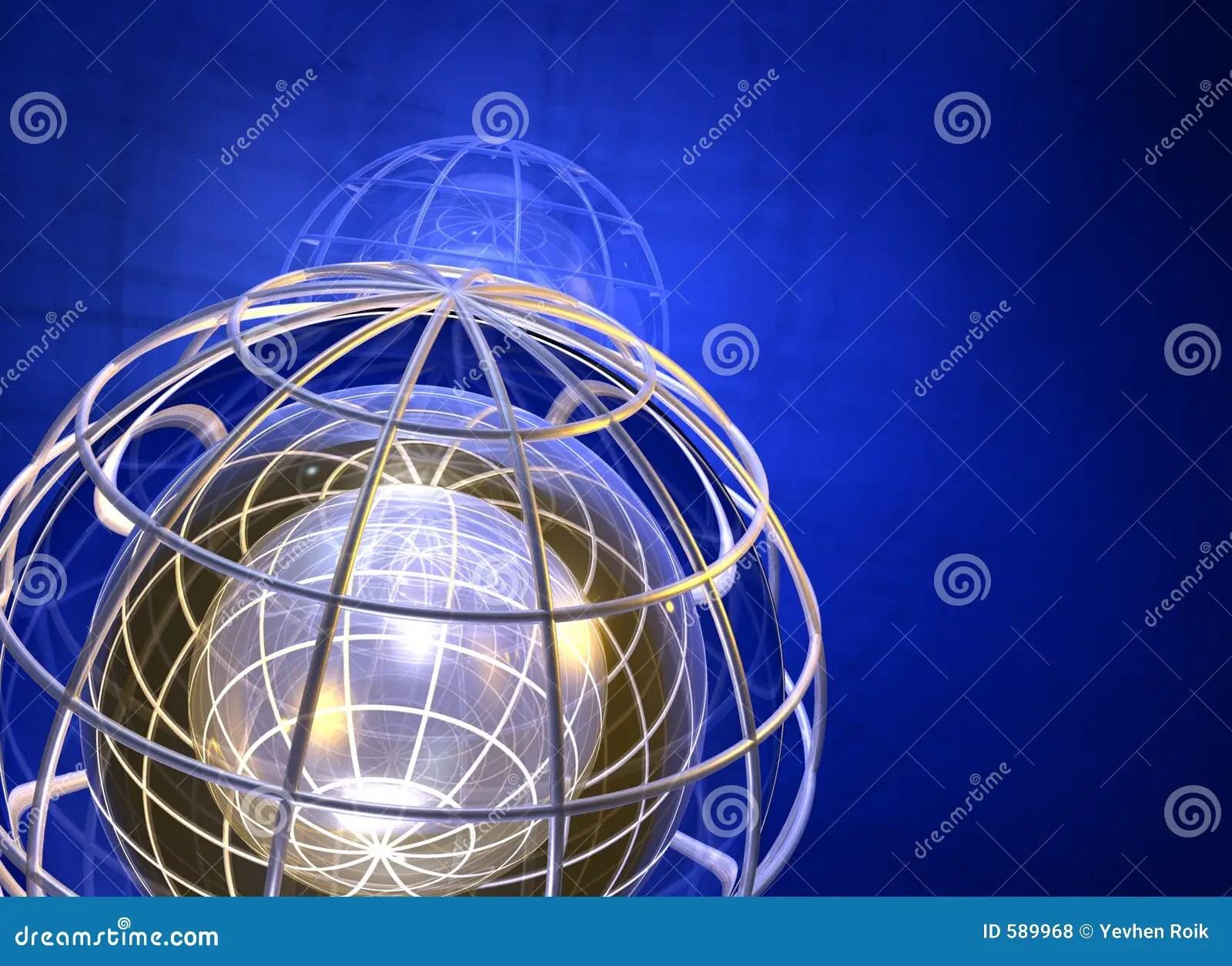 3d World Globe Wallpaper Earth Grid 3d Stock Illustration Image Of Backround