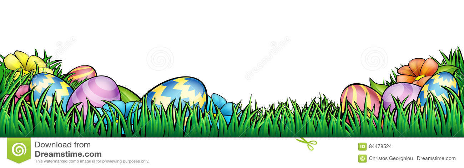 Easter Eggs Background stock vector Illustration of ester - 84478524