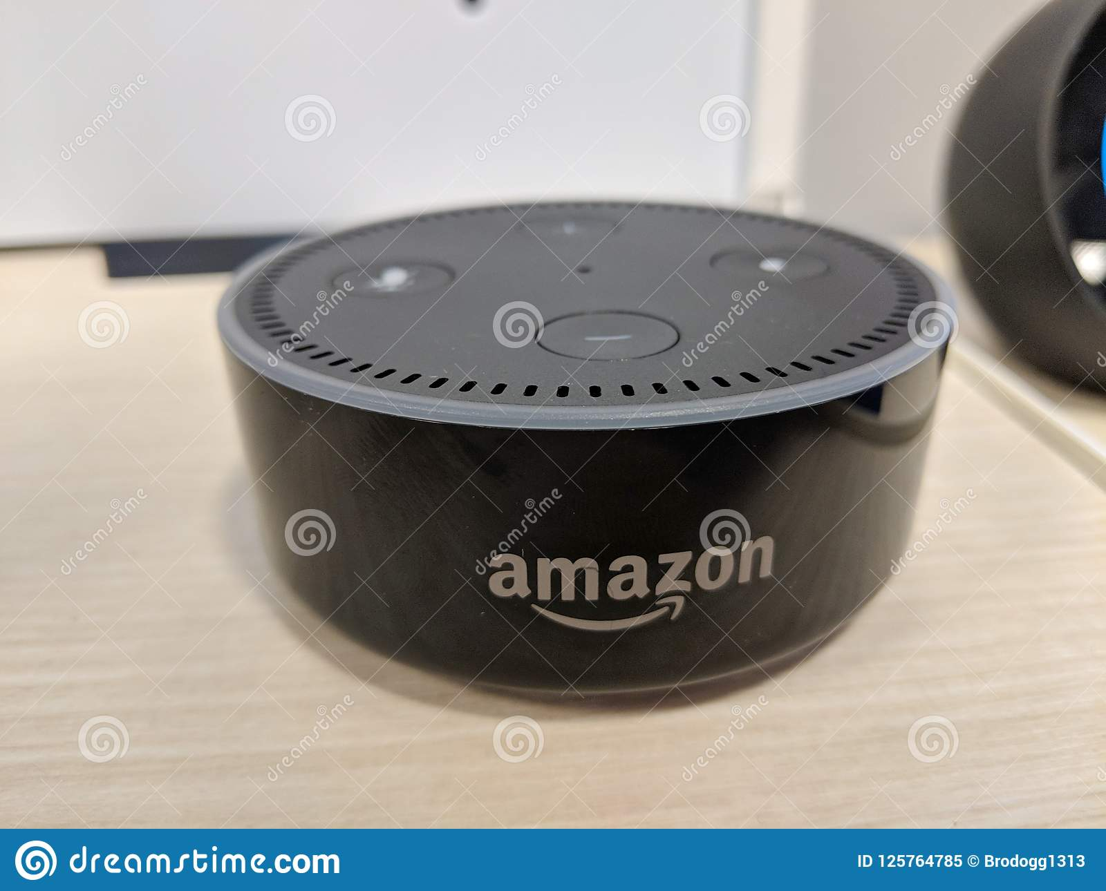 Alexa Dot Echo Dot 2nd Generation Smart Speaker With Alexa Black On