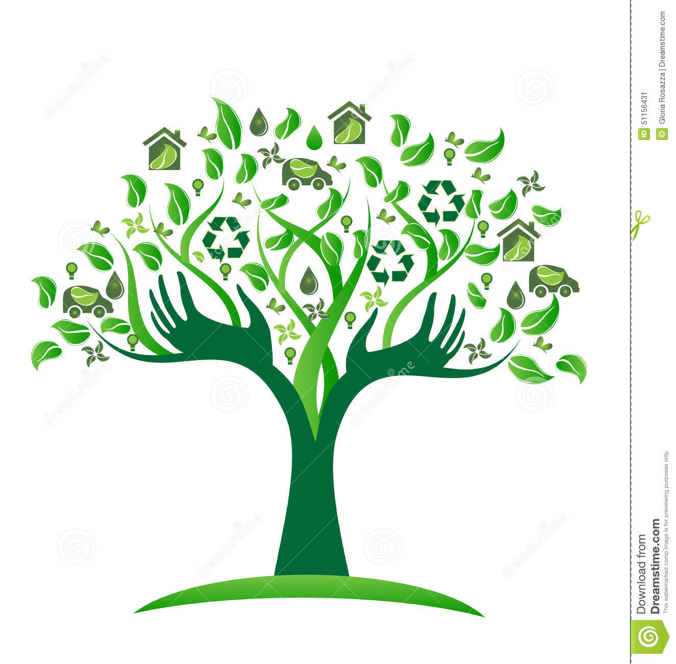 Audio Car Wallpaper Download Ecology Green Icons Tree With Hands Logo Vector Stock