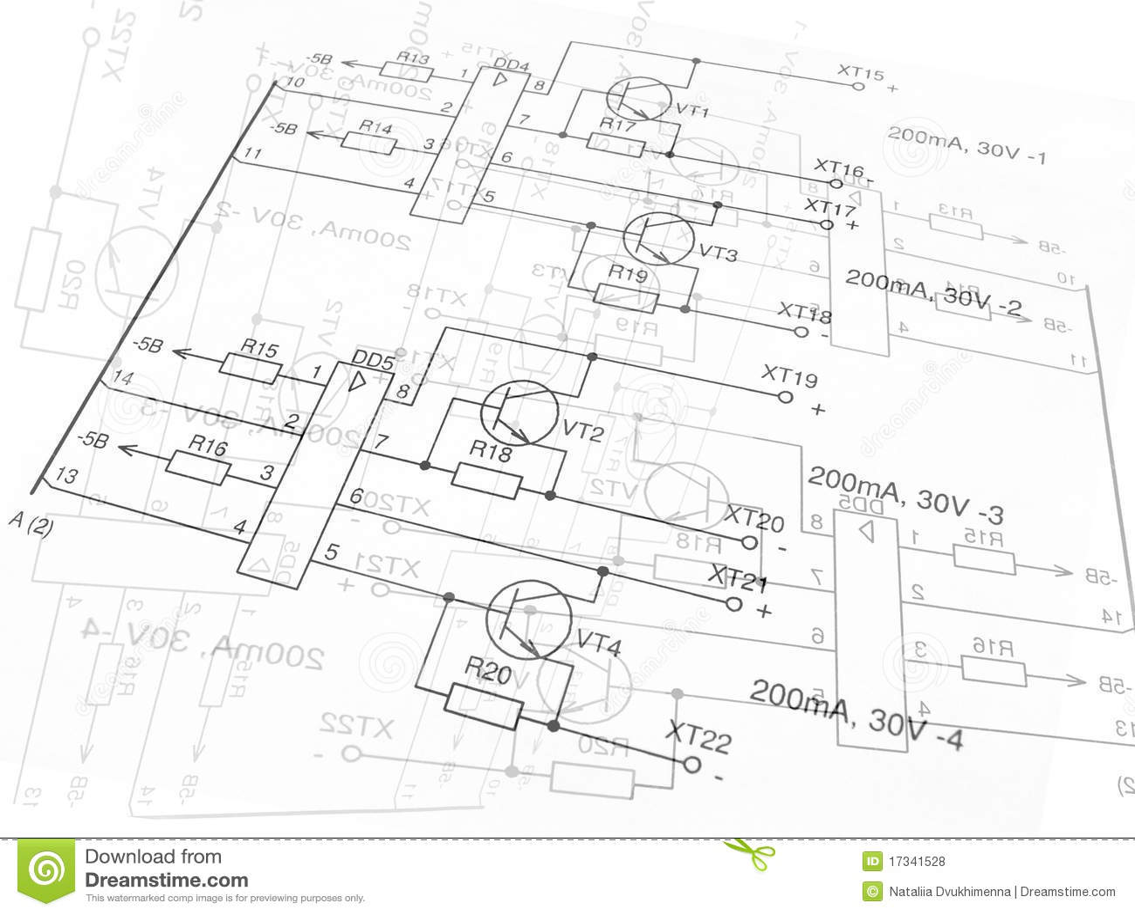 electric circuit stock photo image 2947480