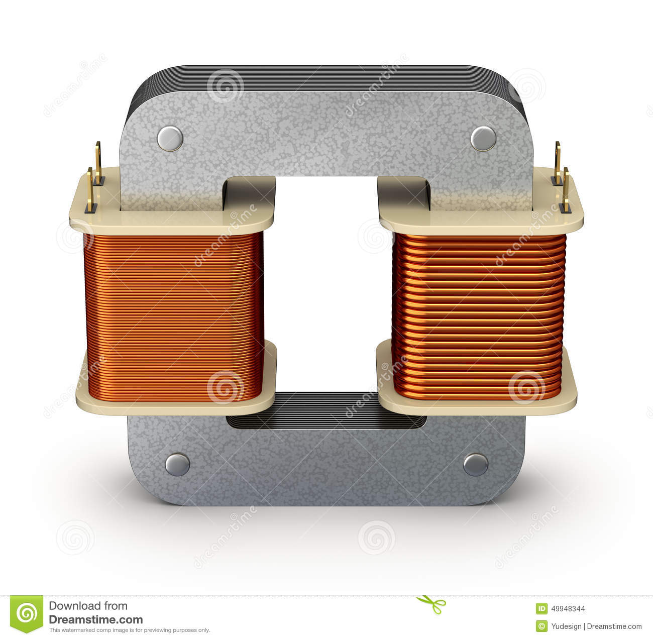 Wie Funktioniert Ein Transformator Electric Transformer Stock Illustration Illustration Of
