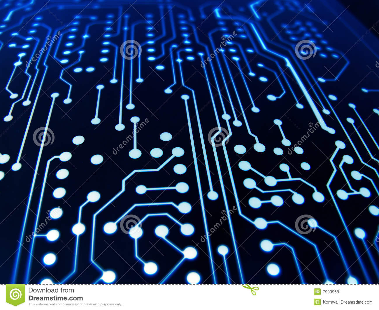 3d Virus Wallpaper Electronic Board Stock Photo Image Of Circuit Conductive