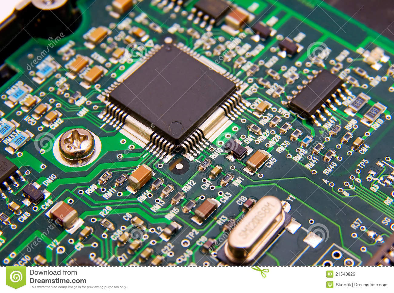 Circuit Board Electronics Stock Image Of Auto Electrical Electronic Photos 19113403 Photo Microchip