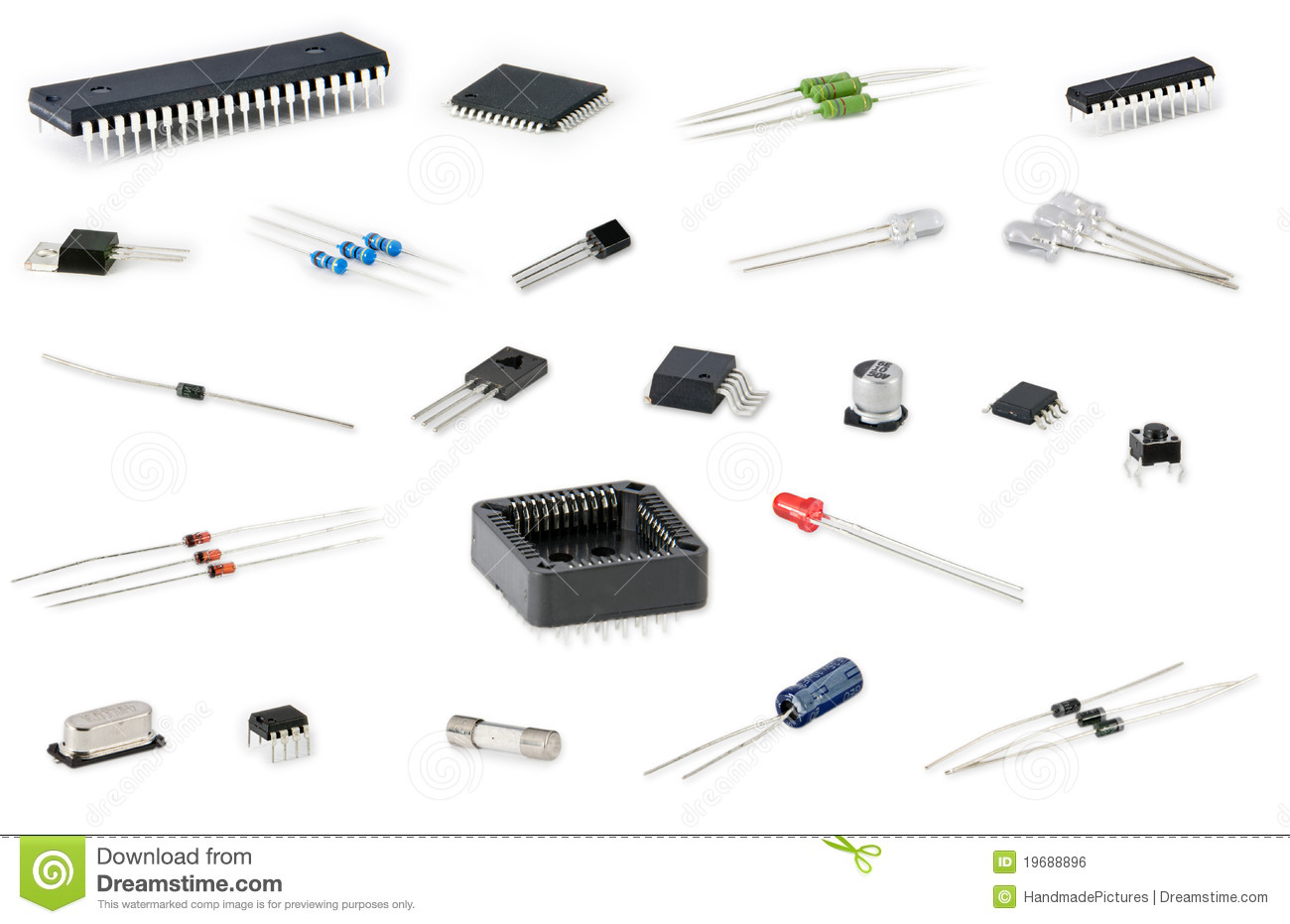 smd circuit board stock image image 22614161