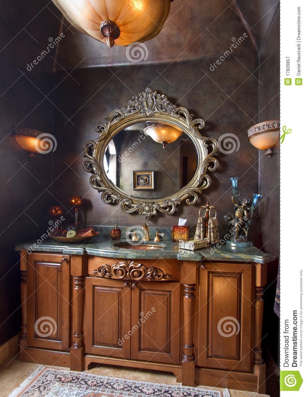 Elegant Bathroom Sinks Elegant Bathroom Sink Counter Top Stock Image Image Of Beautiful