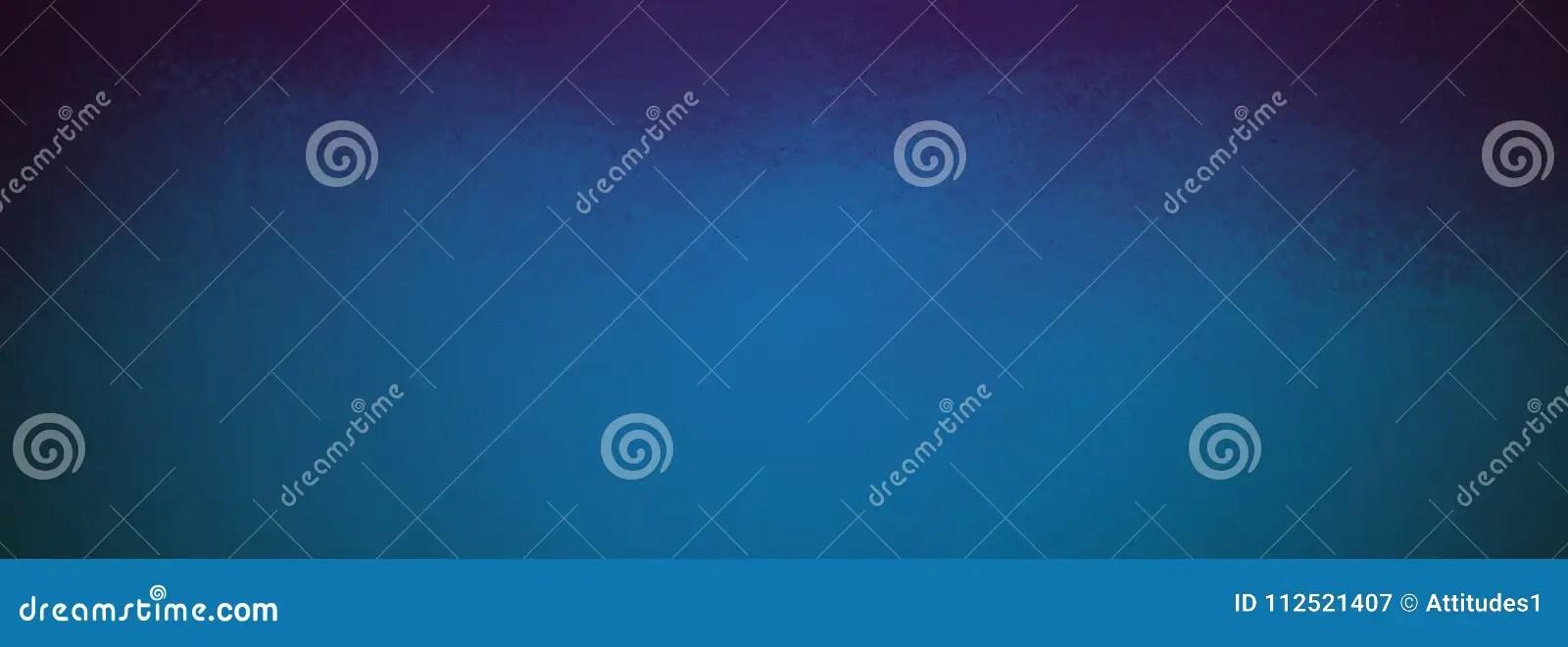 Elegant Blue Background With Black Textured Corners And Vintage