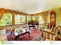 Elegant Old Fashioned Living Room Stock Photos - Image ...