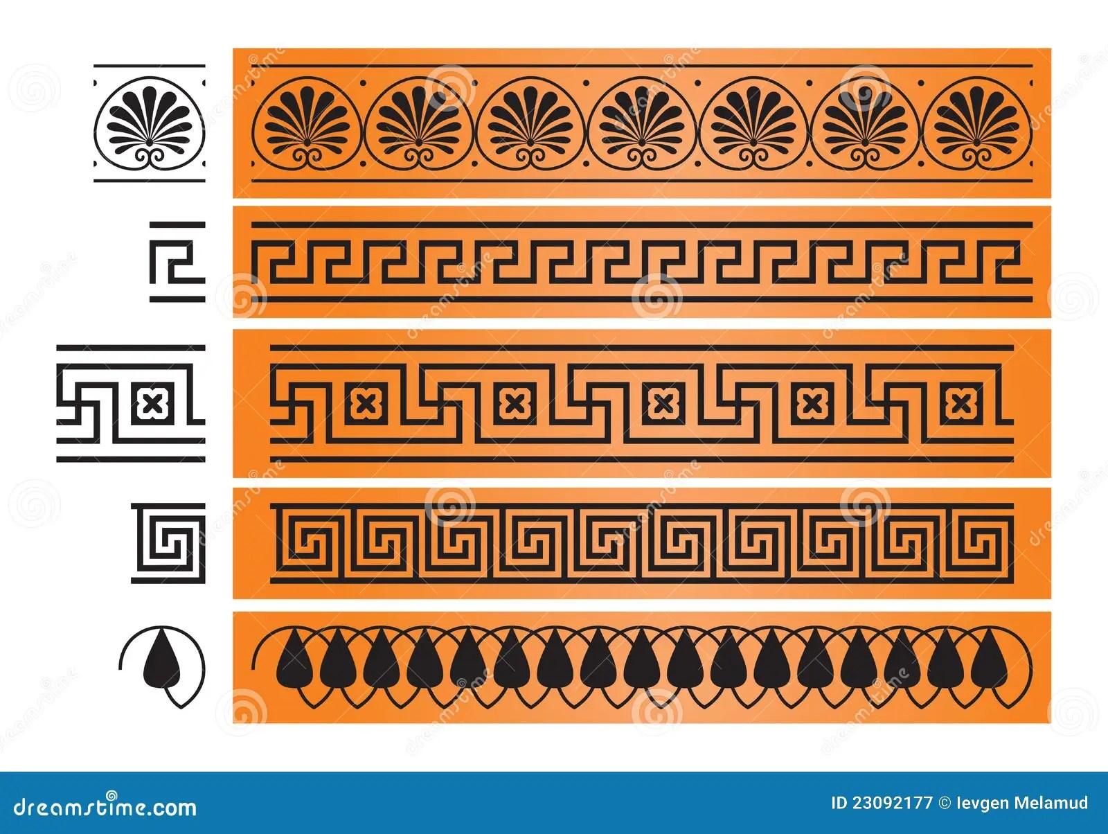Decorazioni Greche Decorazioni Vasi Greci Da Stampare