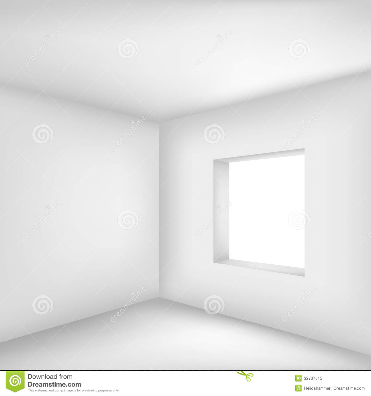 Empty white room royalty free stock photo image 32737515
