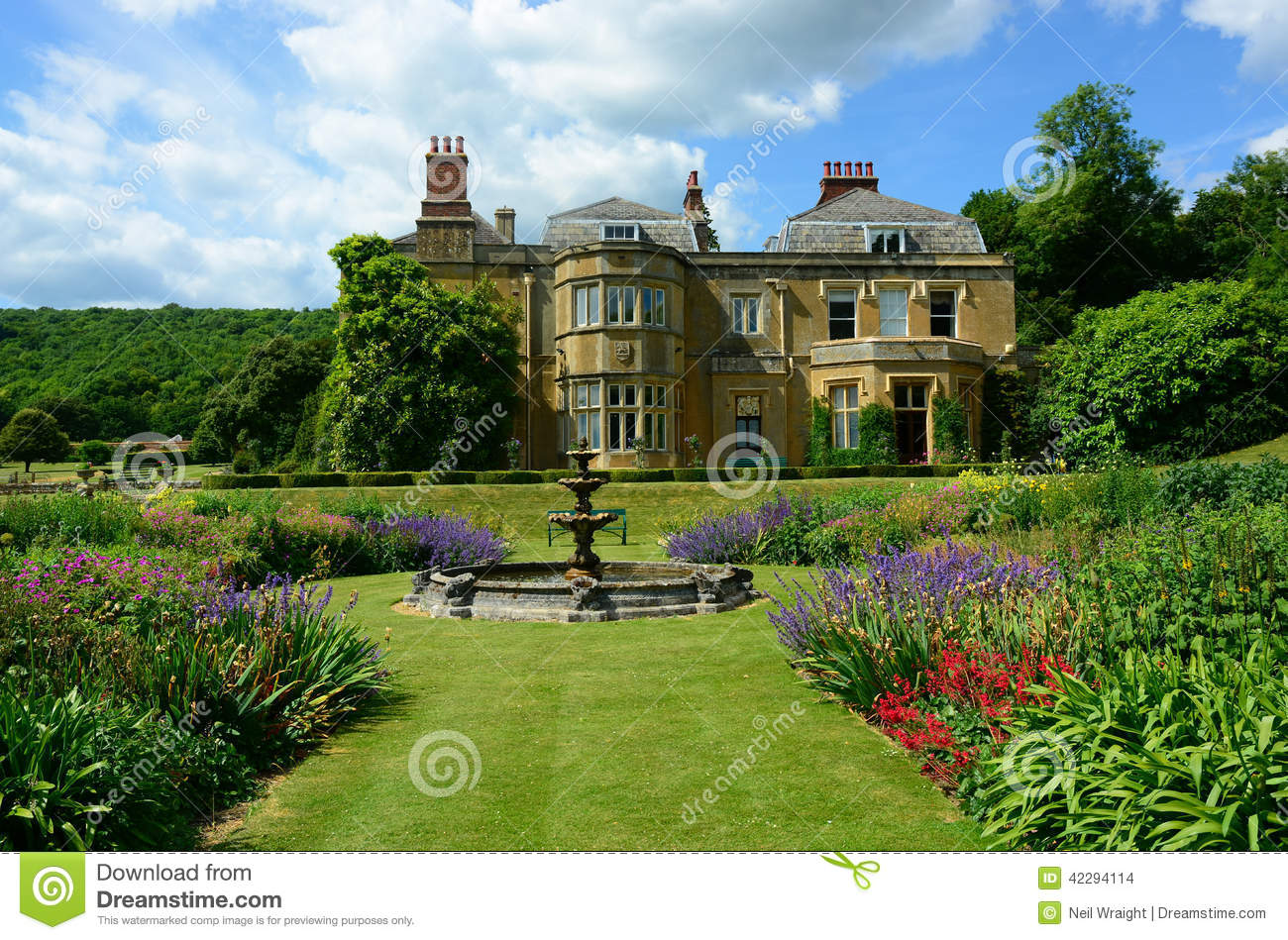 Photo Maison De Campagne English Country House Stock Photo Image Of Architecture