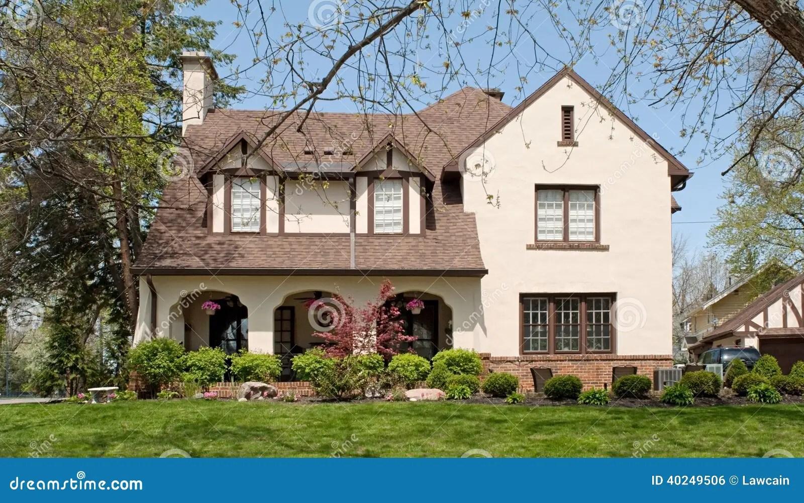 english tudor style home stock photo image english tudor style house plans