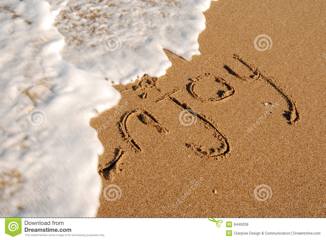 Audio Car Wallpaper Download Enjoy The Beach Message On The Shore Royalty Free Stock
