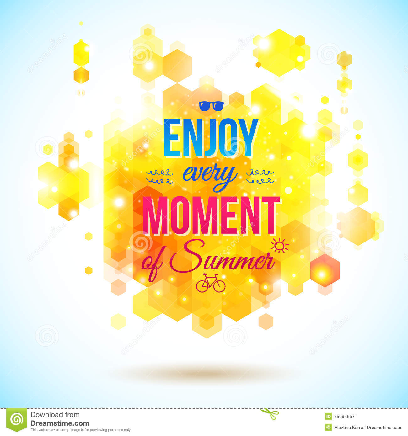 Download Wallpaper Positive Quotes Enjoy Every Moment Of Summer Positive And Bright Stock