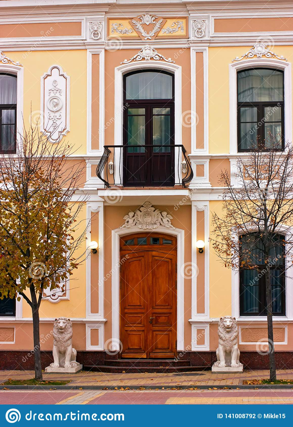 Dsk Doors Entrance Of A Home Stock Photo Image Of Facade Ancient 141008792