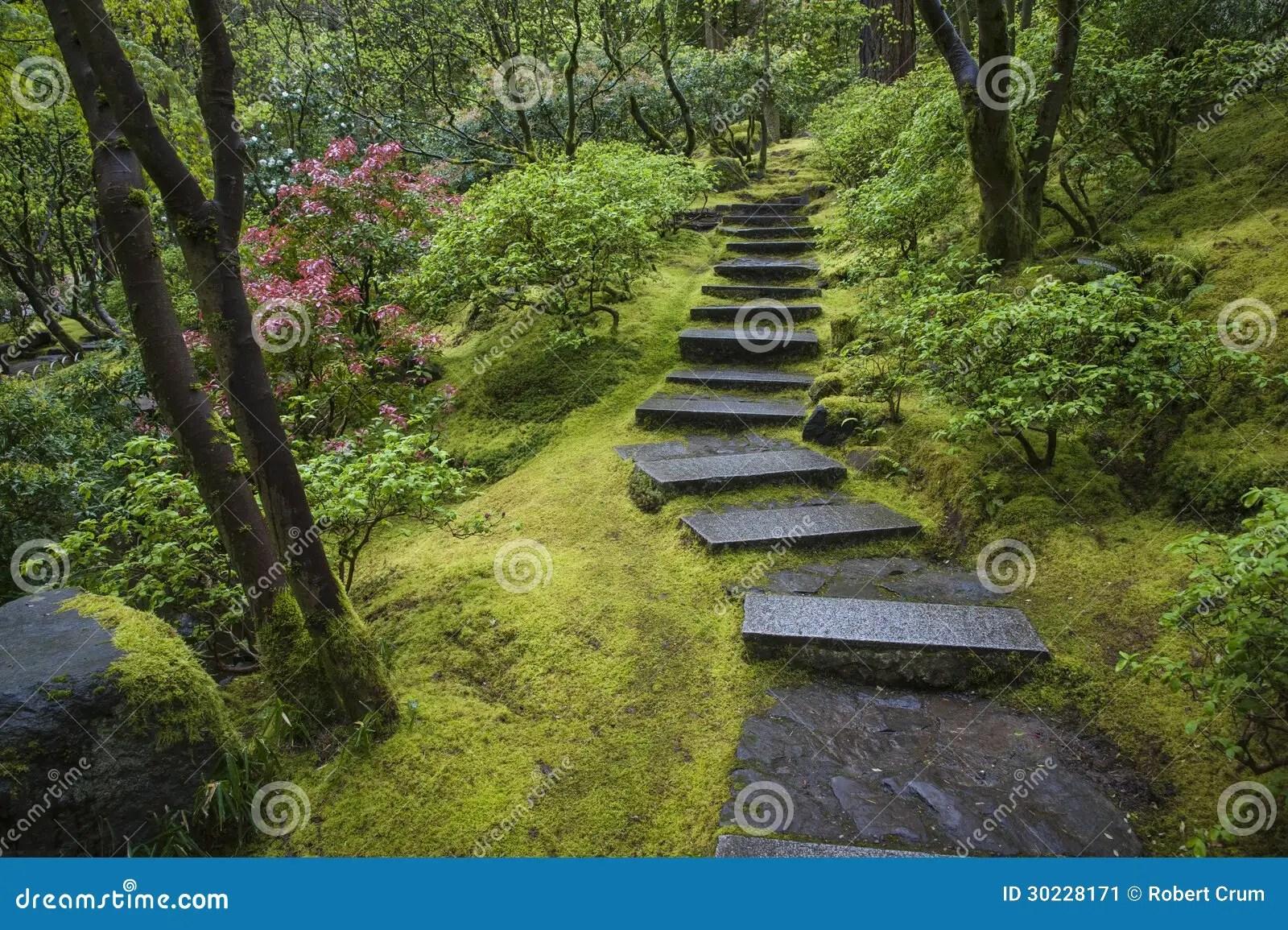 Escalier Jardin Japonais | Amenagement De Talus En Pente Ok51 ...