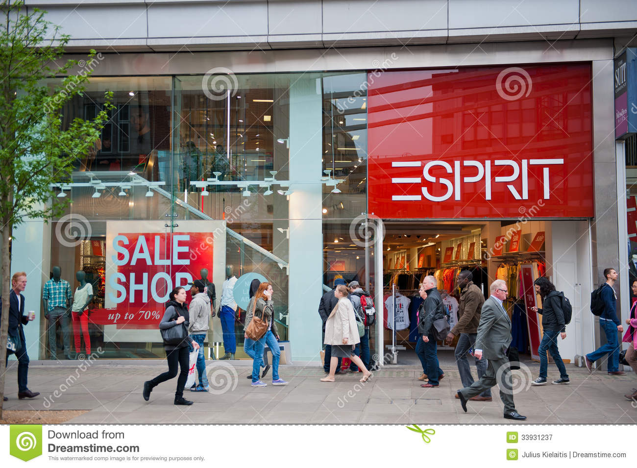 Esprit Shop Esprit Store In London Uk Editorial Photography Image Of Icon